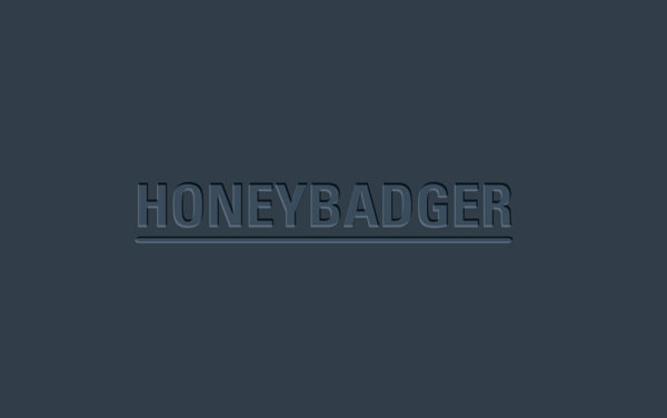 Honeybadger Logo Design