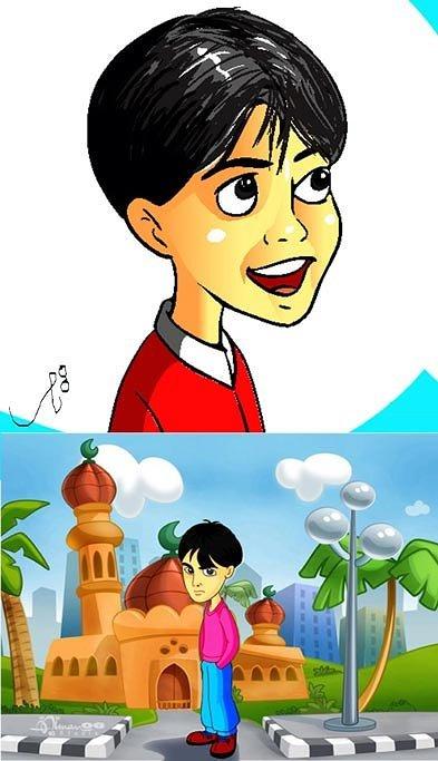 شخصيات كرتونيه بطابع عربى
