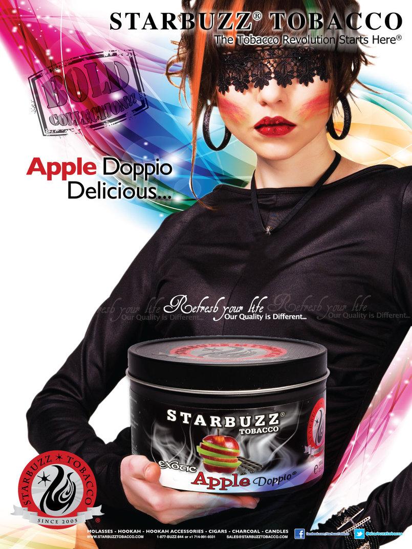 StarBuzz Apple Doppio Poster