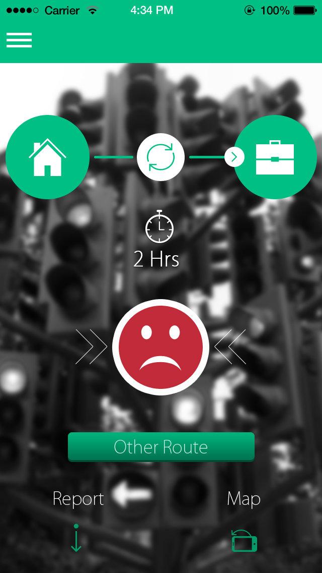 Green - Traffic app