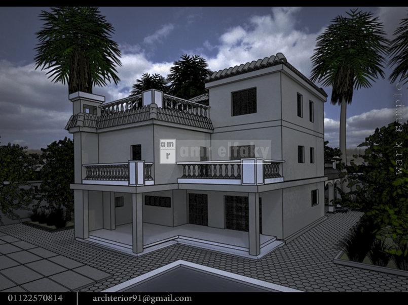 Exterior scene