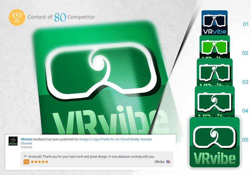 VR Vibe logo