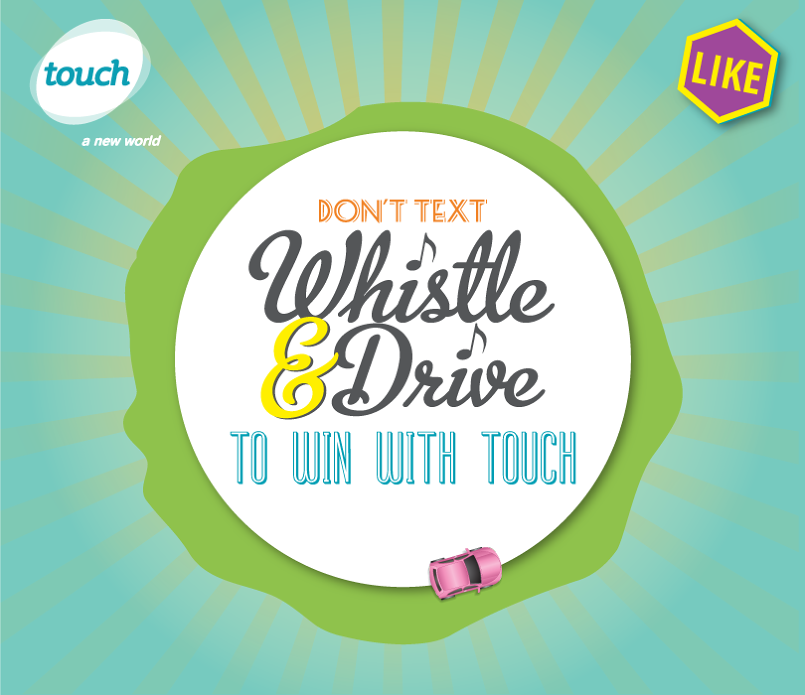 Whistle and Drive Touch Facebook Game