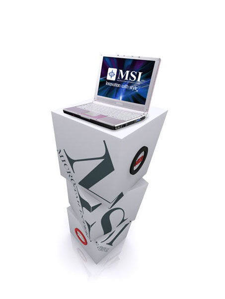 laptop show stand