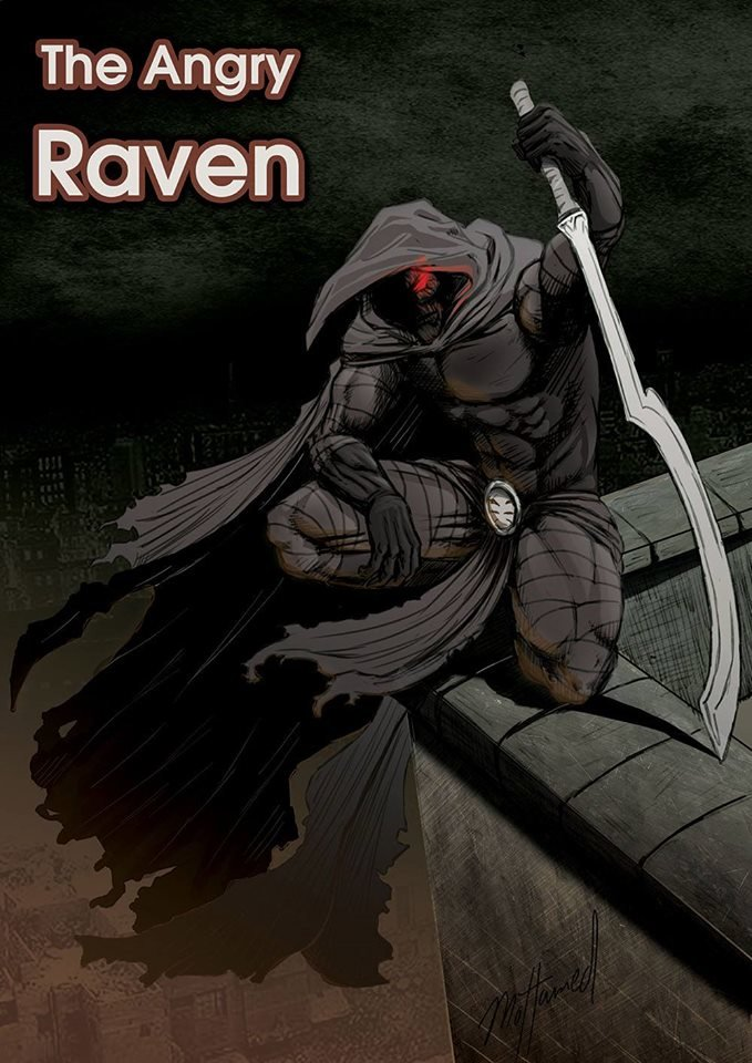 The Angry Raven Poster