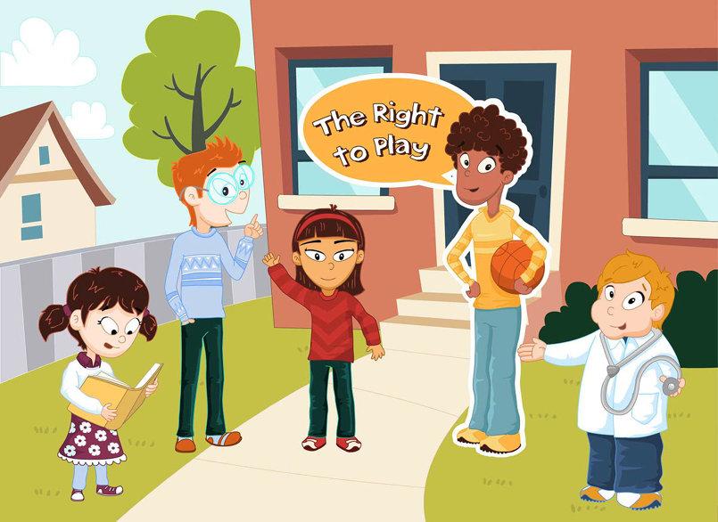 نشاط حقوق الطفل
