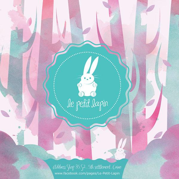 Le petit lapin (Branding)