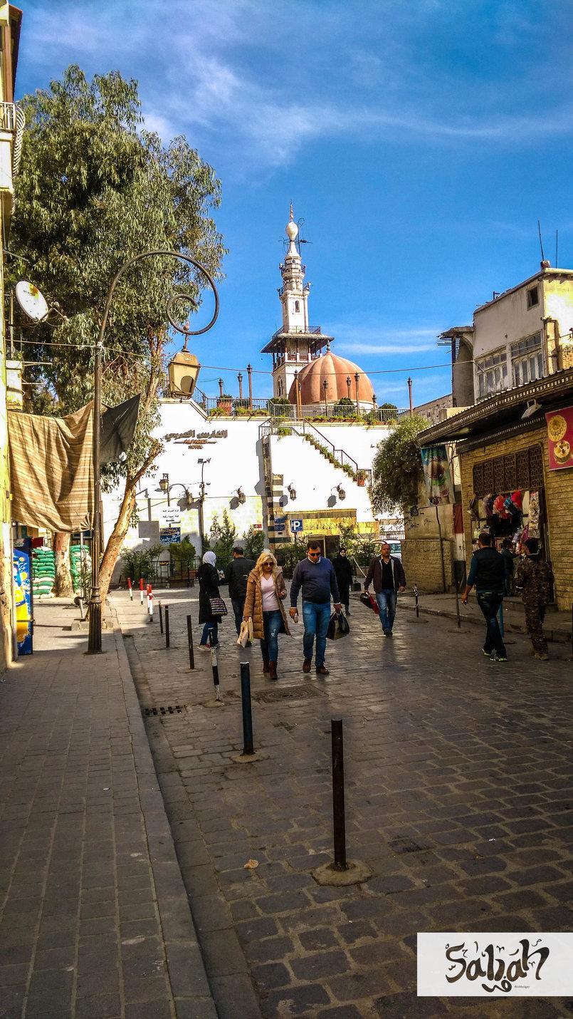 دمشق القديمة .. شتاء 2016