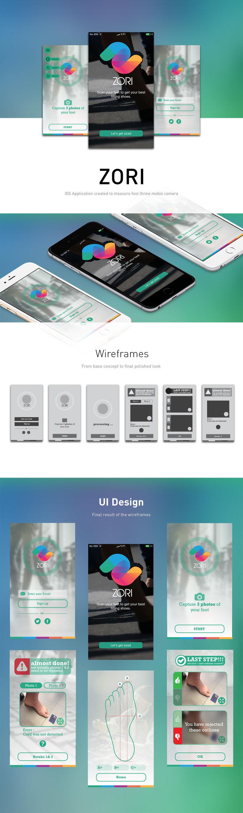 ZORI Mobile application