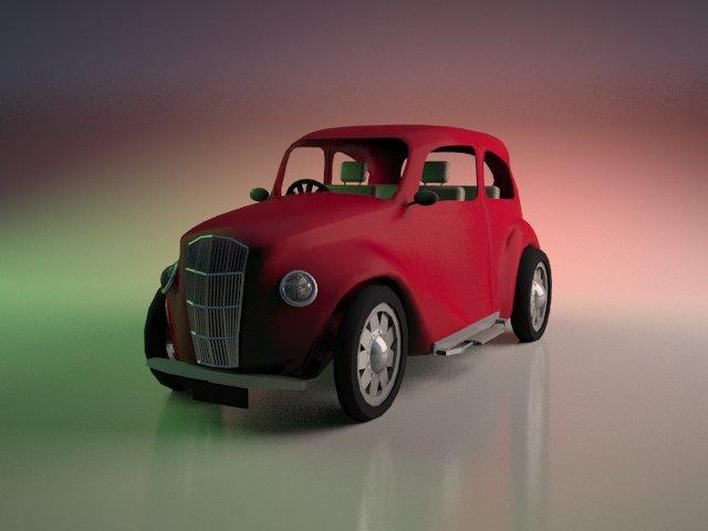 سيارة 3d