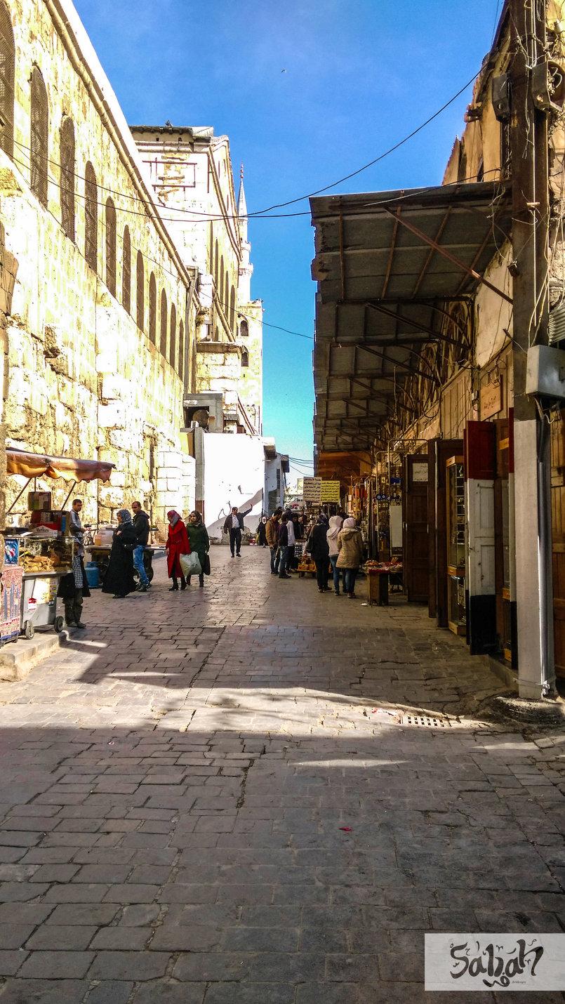 دمشق القديمة .. خريف 2015