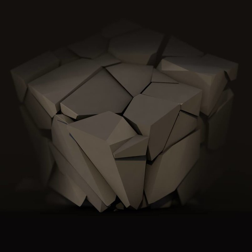 cube destruction