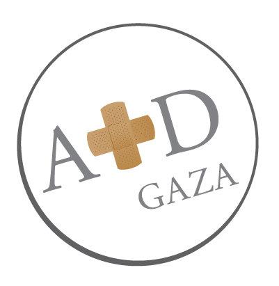 Aid Gaza fundraising merchandise