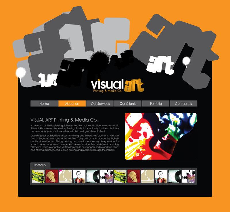 Website Interface Design, UI/UX Design