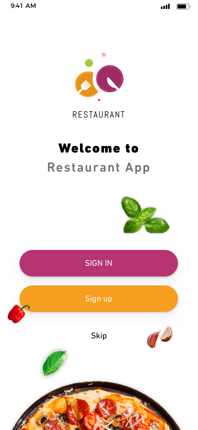 Foodi Mobile App