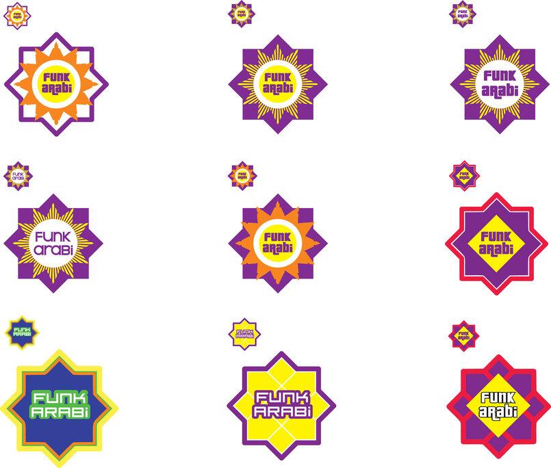 FUNK ARABI logo options