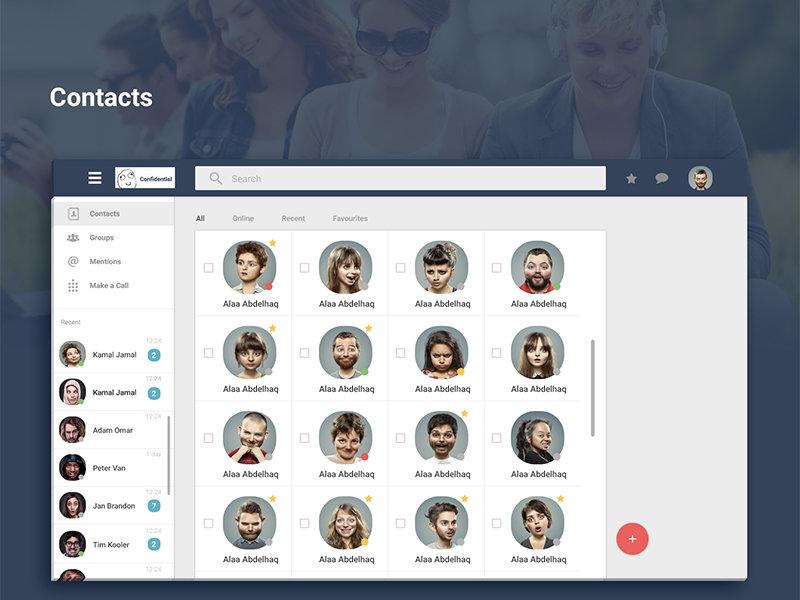 Chat App - Material Design