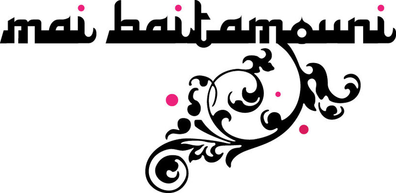 Mai Baitamouni-(fashion designer) -one of several logo/signature options