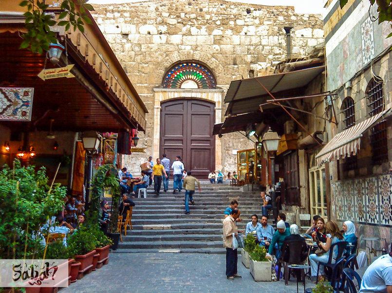 دمشق القديمة (النوفرة) .. صيف 2015