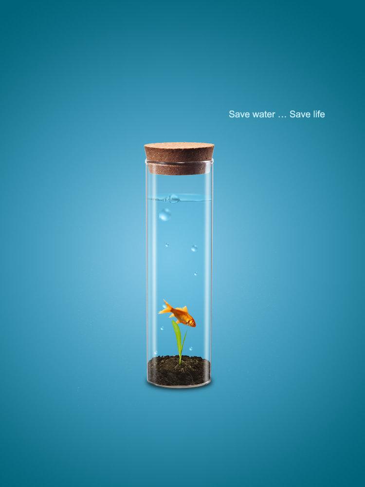save water .. save life
