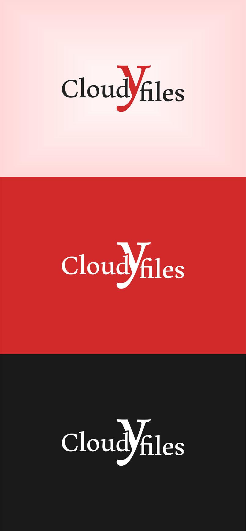 Cloudy files logo