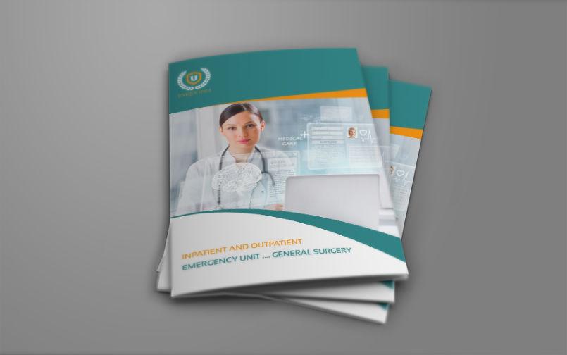 Hospital Bi-Fold Brochure Template Vol.2