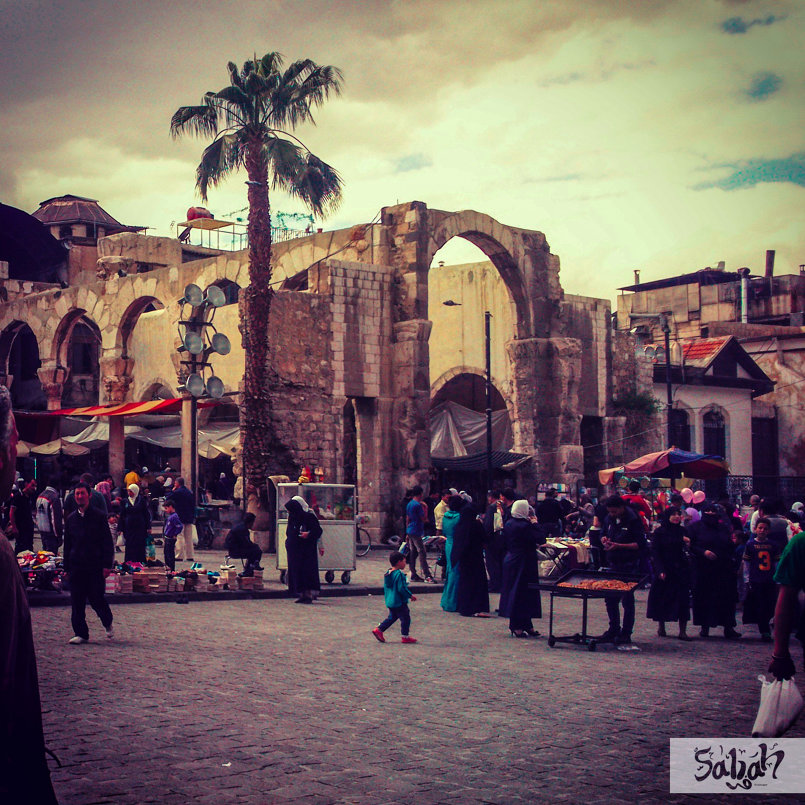 دمشق القديمة ... شتاء 2014