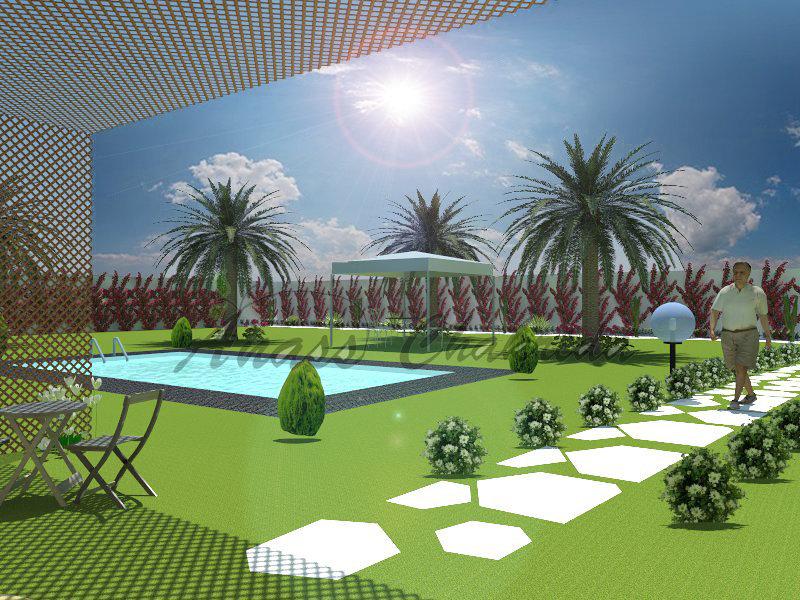 تصميم الحدائق