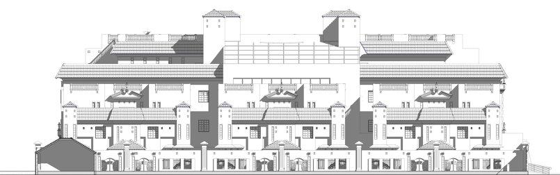 ...-Apartment complex design&presntation -all work bim revit&3dmax