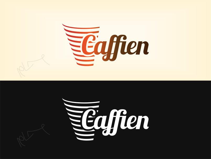 Caffien Logo   شعار كافاين