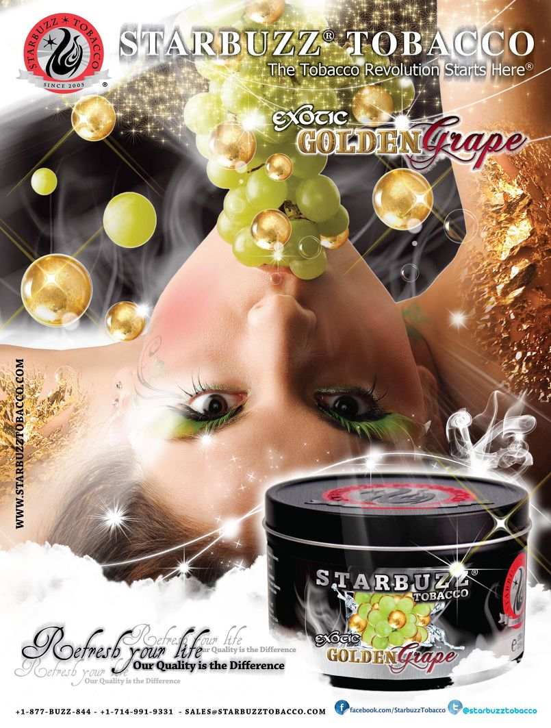 1 - 1 - StarBuzz Golden Grape Poster