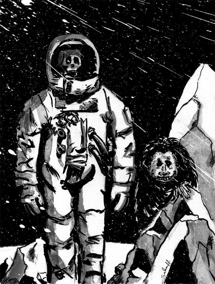 The Cosmonaut. 2013