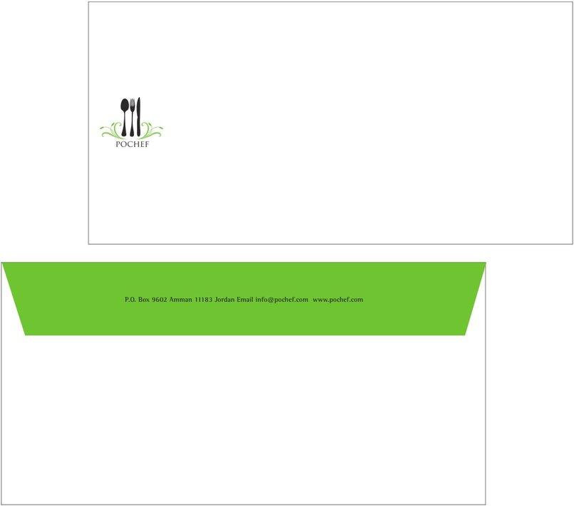 PoChef -envelope layout