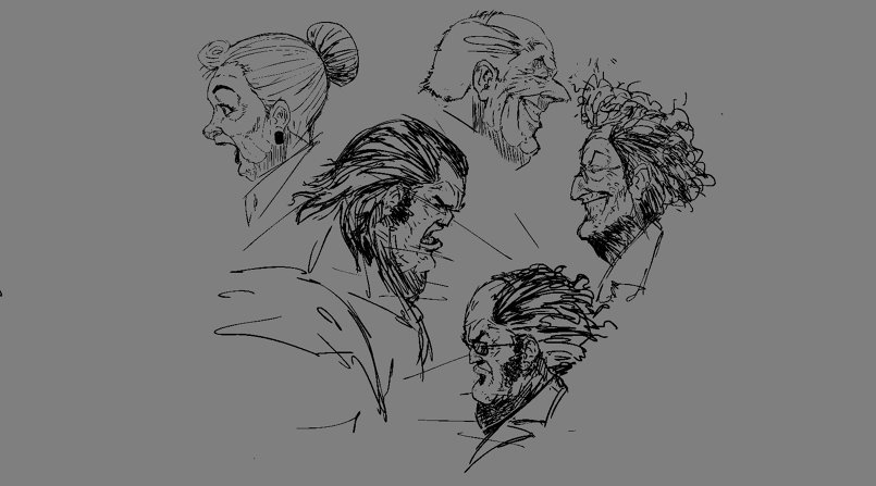 digital sketches
