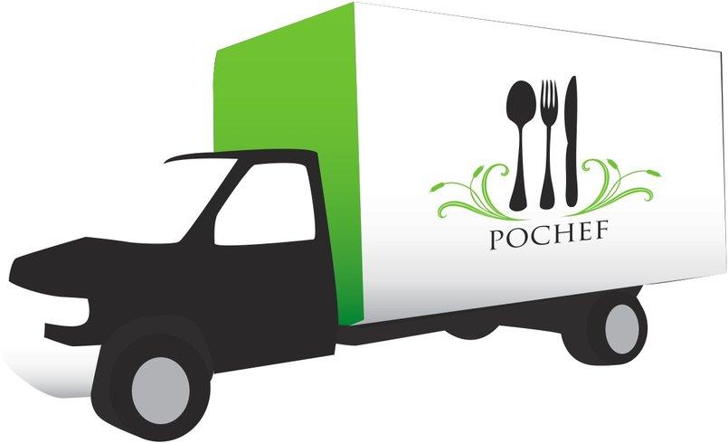 PoChef -bus/van branding