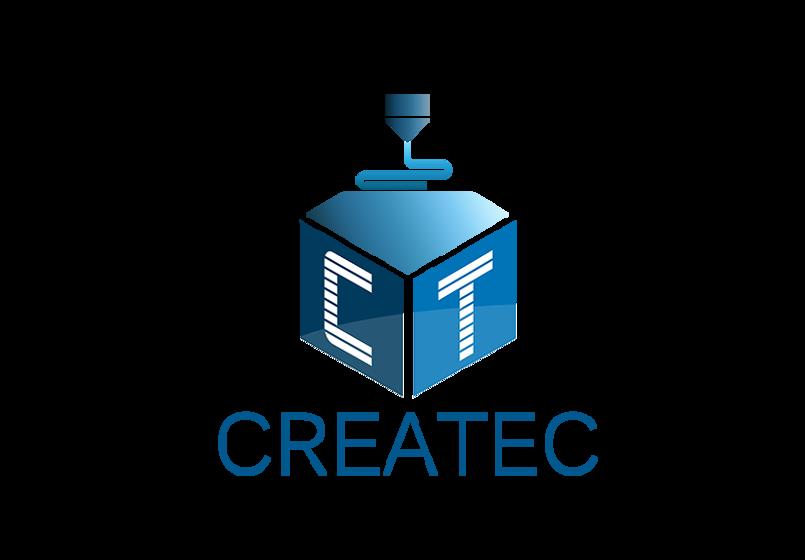 تصميم شعار إحترافي لشركة CREATEC