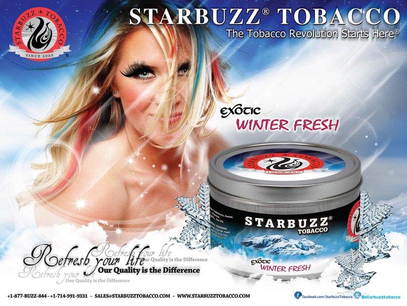 StarBuzz WinterFresh Poster