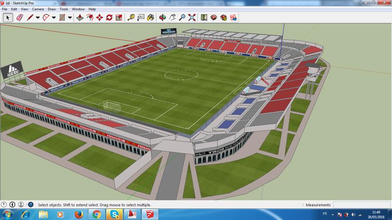 Terrain Football 3D