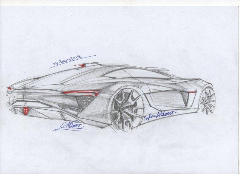 design auto by mi سيارة خرقة