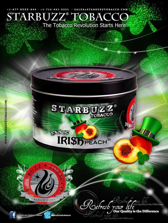 StarBuzz Tobacco Irish Peach Poster