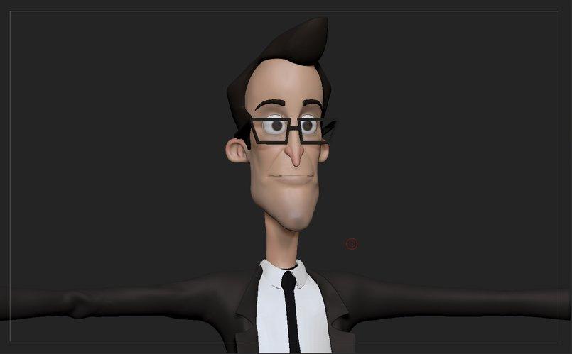 Stylized Male character