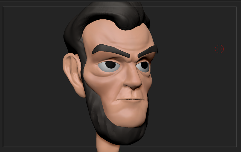 Stylized abraham lincoln