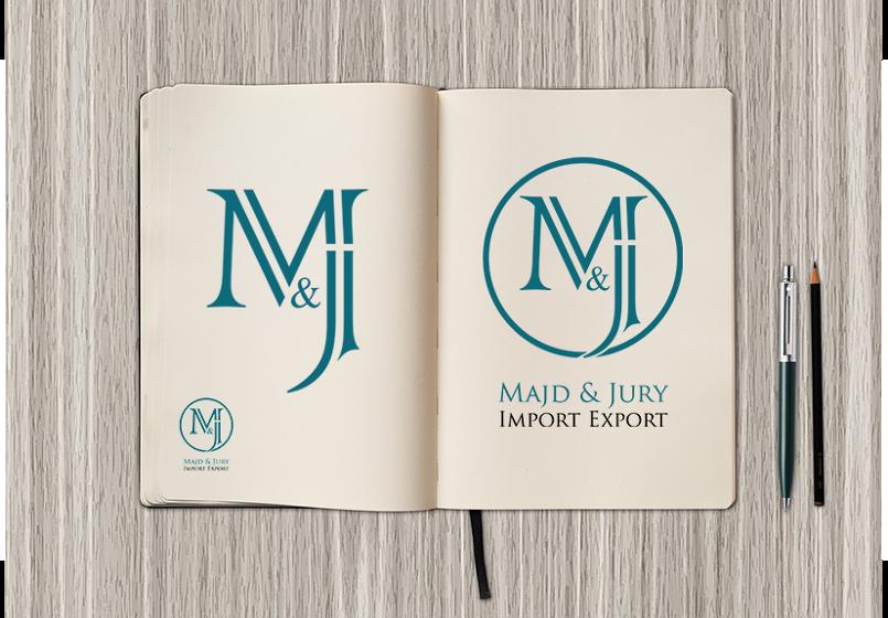 تصميم شعار إحترافي لشركة MAJD & JURY