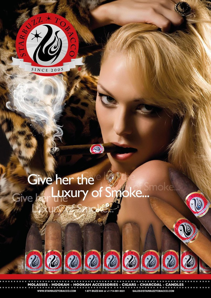 StarBuzz Tobacco Cigar Poster