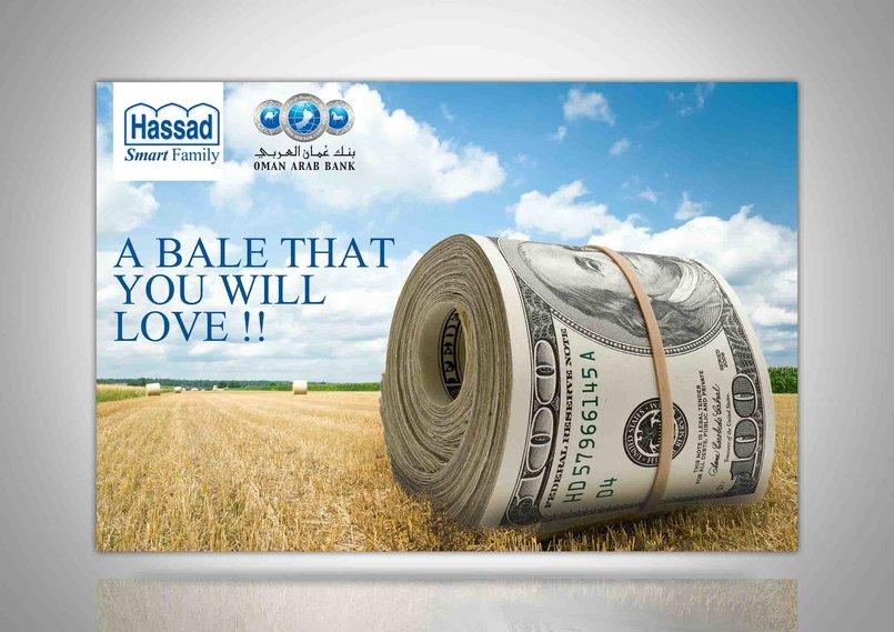 Hassad Oman Arab Bank campaign