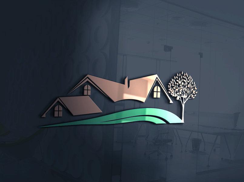 3- 4- تصميم لوجو إحترافي بإسم الشركة ونشاطها