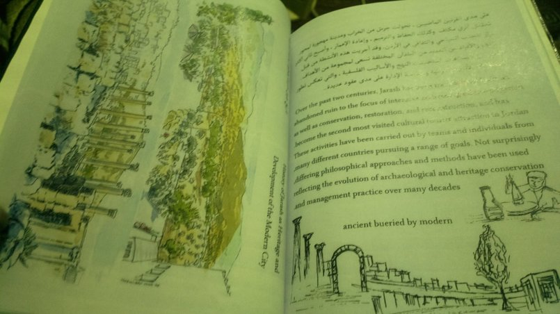 كتاب بحث تاريخي لجرش الاثرية