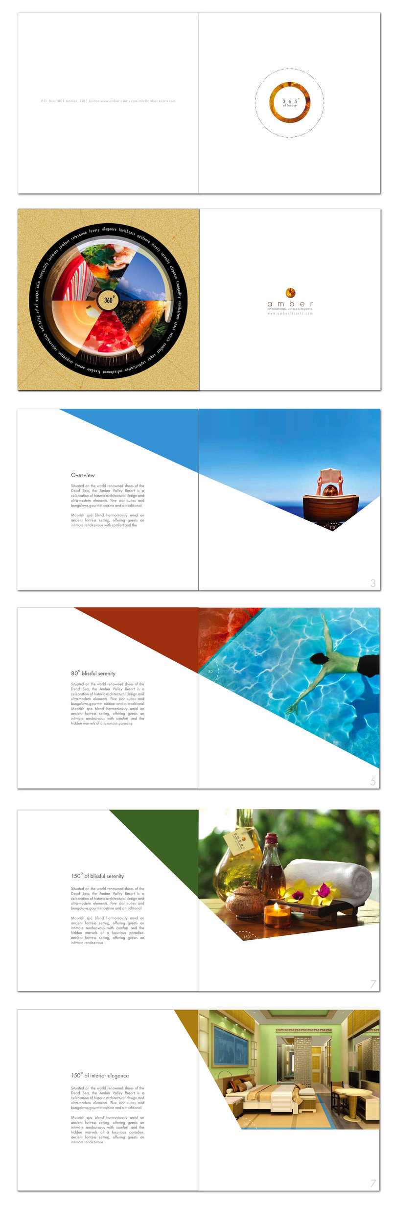 Amber Spa & Resort-Corporate Brochure