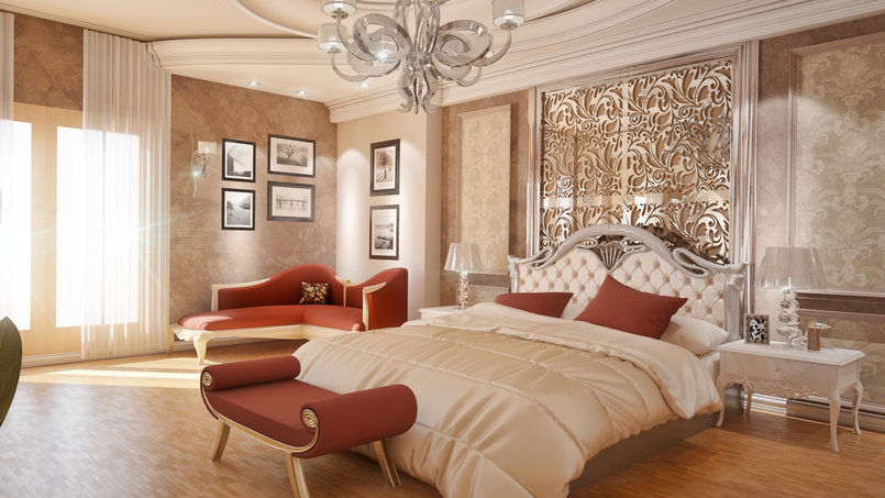 classic Bed room