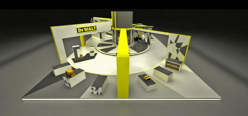 DeWalt Exhibition Stands